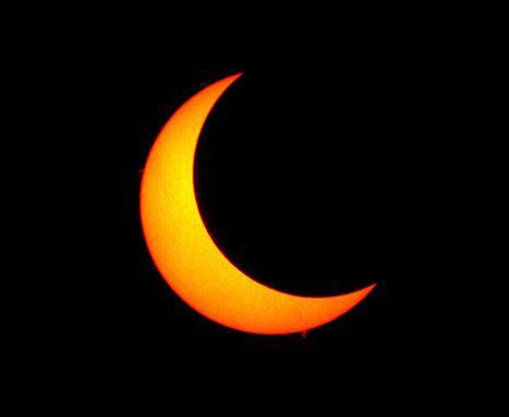 Le syst me solaire les eclipses solaires for Jardin et la lune